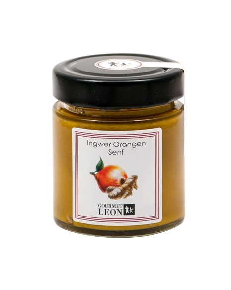 Ingwer-Orangen Senf